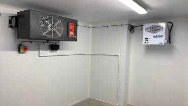 Cellar Cooling Unit Installation for Weymouth Sailing Club